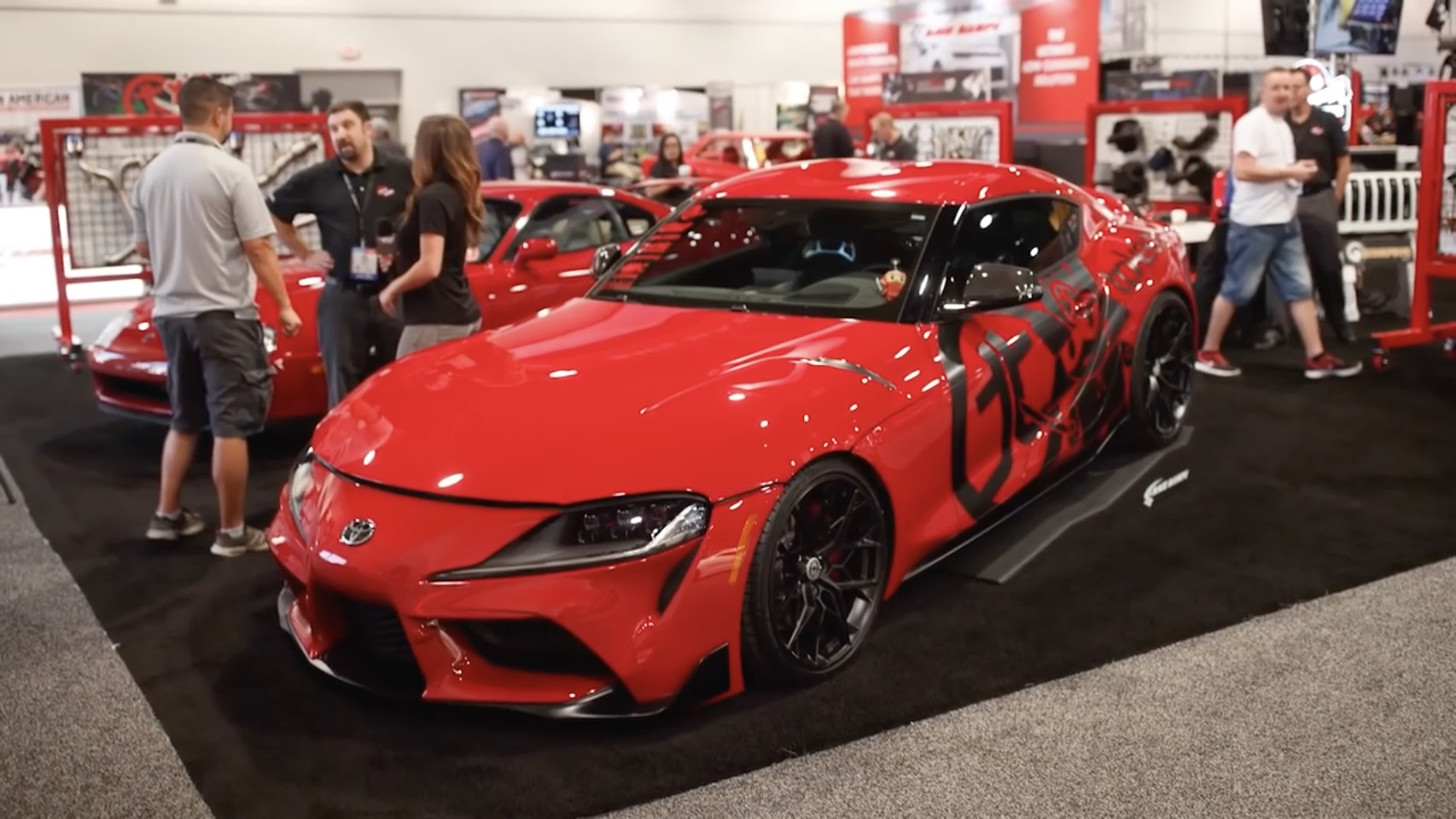 The 2019 Supra Show! …er, SEMA Show! Here's All Of The A90 Supras From This Year!
