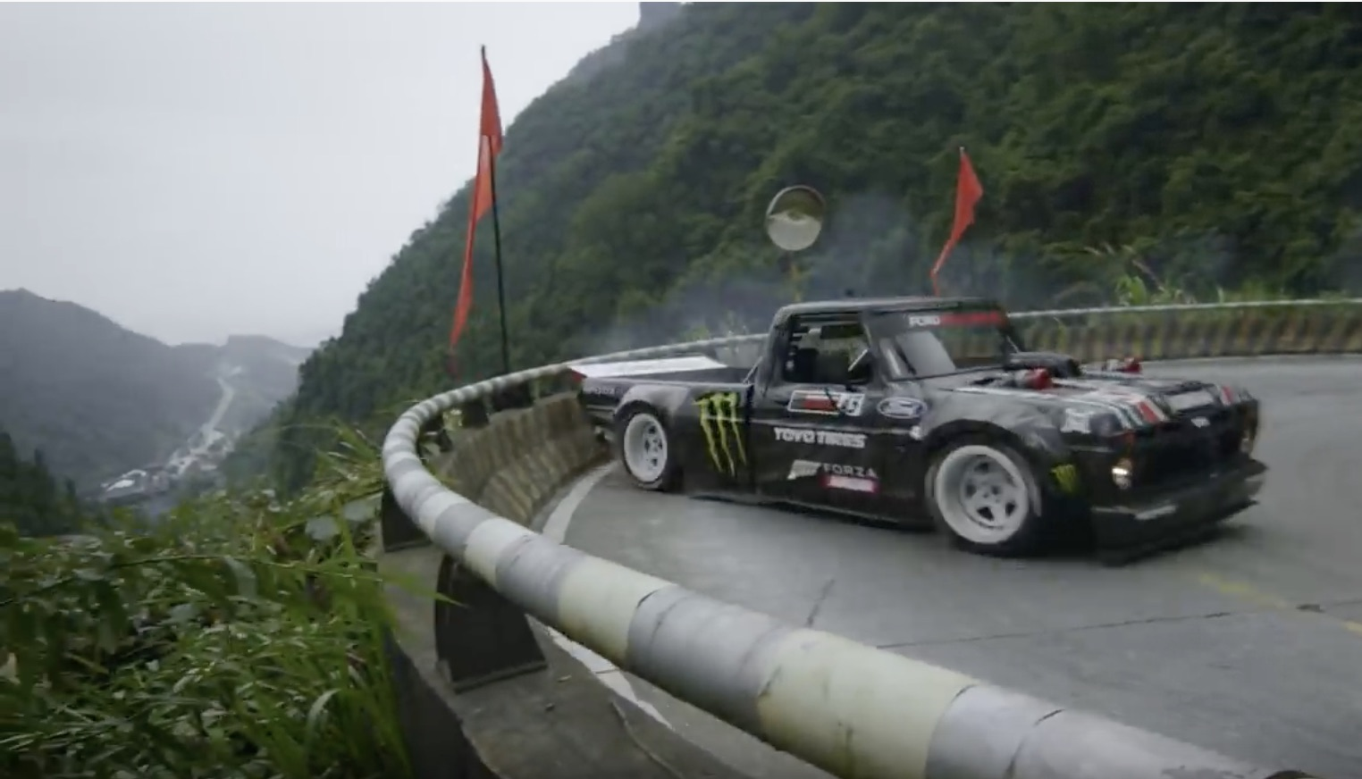 Climbkhana 2: Challenging The Seven-Mile, 99-turn Tianmen Winding Mountain Road In China