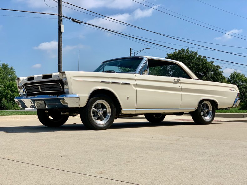 This 1965 Mercury Comet Cyclone Is A 4-Speed, Small Block, Wimbledon White Slice Of Mercury Perfection