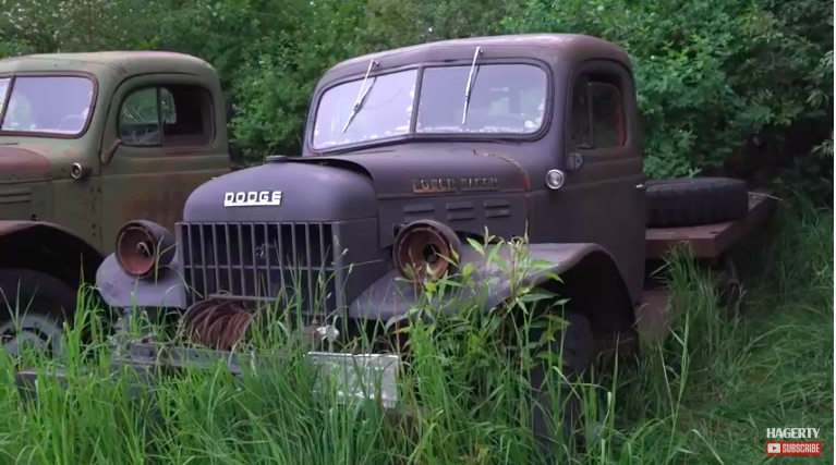 Neat Stuff Video: The Barn Find Hunter Locates Power Wagons, Mustangs, and More