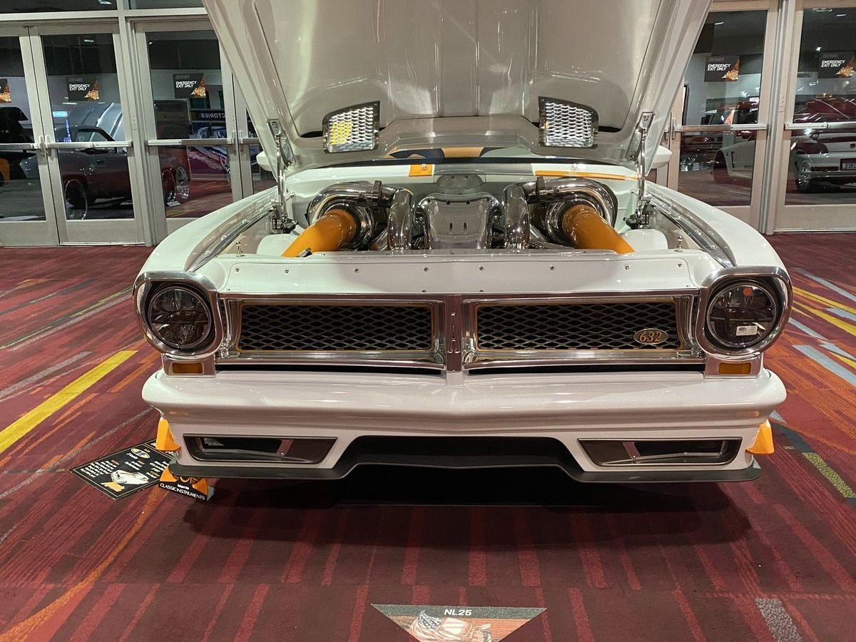 SEMA 2019 Photos: A Selection Of Interesting Cars and Interesting Engines! Why Be Totally Normal?