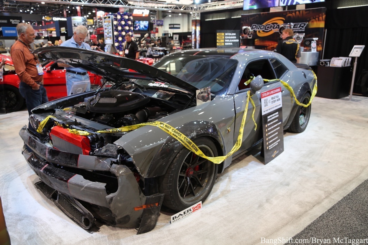 SEMA 2019: Quintin Brothers' Dodge Challenger Scat Pack – Call This One The Hellraiser!