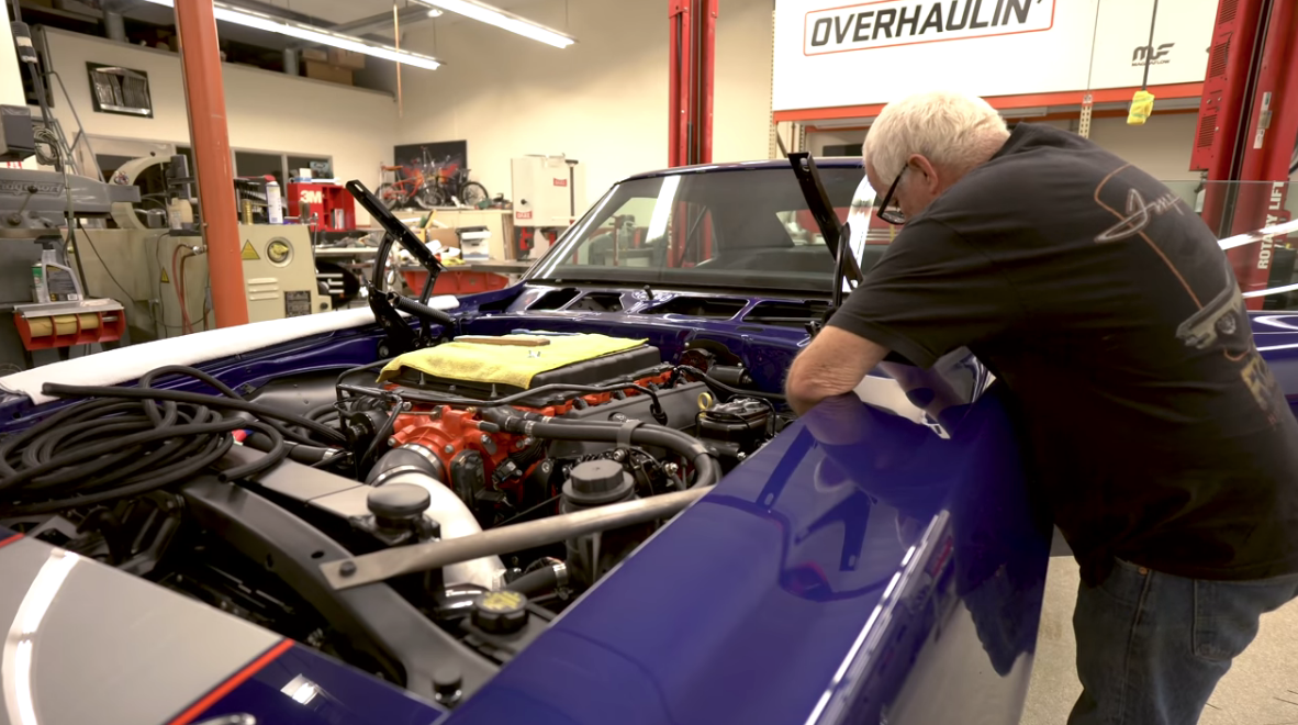 The SEMA Thrash Is Real! Chip Foose Shows Just How Real While Trying To Finish The Jag And The Camaro