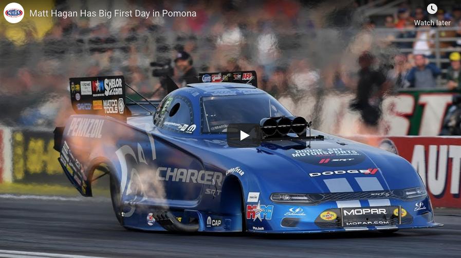 Friday Results And Video Recap: NHRA Mello Yello Drag Racing World Finals From Pomona