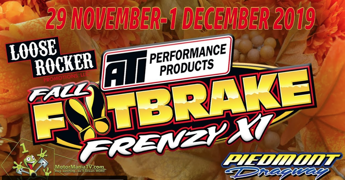 The Fall Footbrake Frenzy Is LIVE Right Here! Door Cars Galore! Footbrake Only Drag Racing Is LIVE Right Here! $20,000 To Win