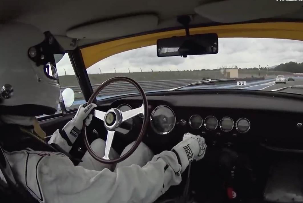 Morning Symphony: 1961 Ferrari 250 GT Berlinetta SWB at Circuit Paul Ricard