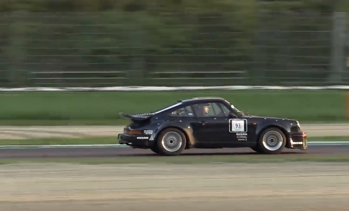 Morning Symphony: 1984 Porsche 930 At Imola – Whale-Tail Ride Along!