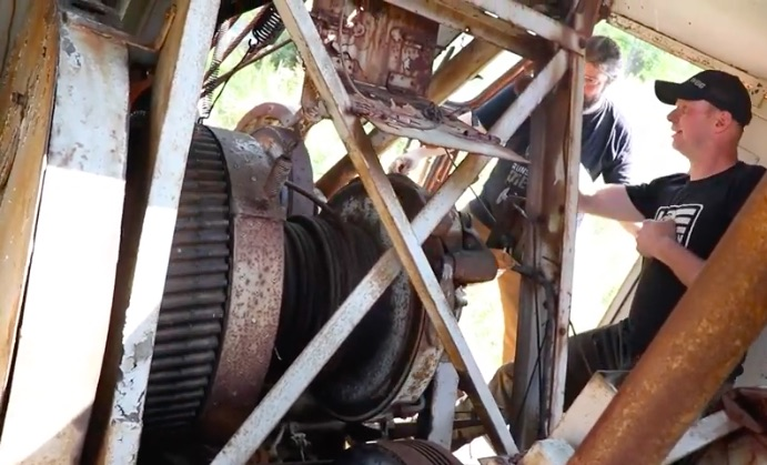 Dead Dragline Come To Life: Waking Up A Truly Junk Piece Of Equipment!