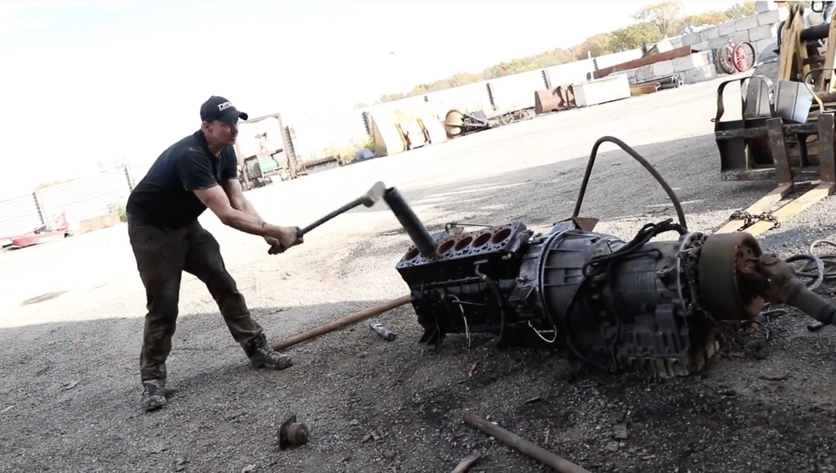 Cummins Into A Komatsu, Part 2: Getting The Dodge-Swapped Bulldozer Up And Going