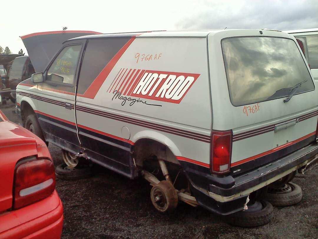 Save It: This Weirdo Hot Rod Magazine Chrysler Mini-Van Is Languishing In A Washington State Wrecking Yard