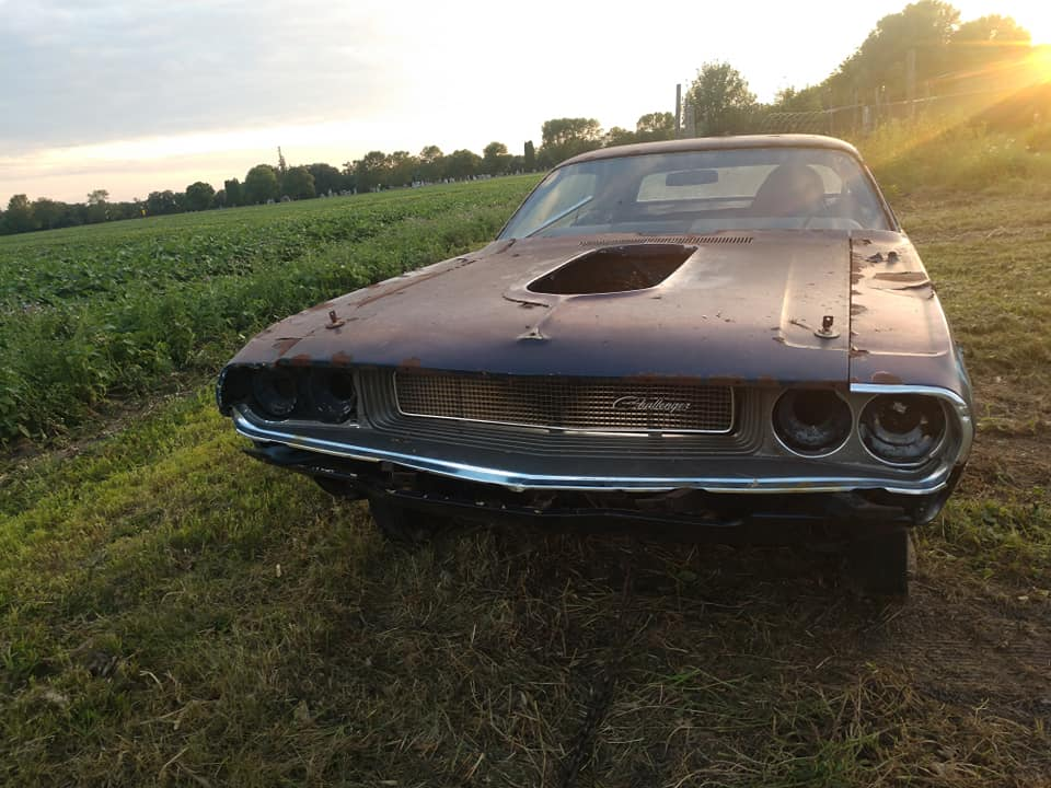 Rough Start: 1970 Dodge Challenger – The Tired Old Soul