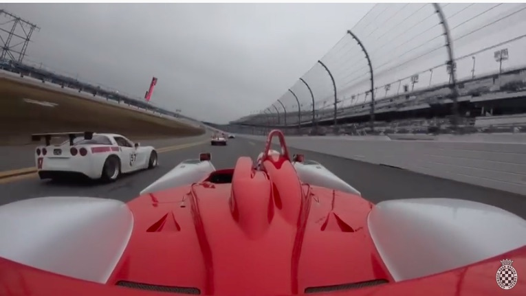 Blinding Speed: Ride On The Back Of A 700hp V-10 Powered Dallara SP1 As It Passes EVERYTHING At Daytona