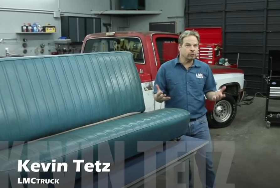 Are You Afraid To Recover Your Own Truck Seat? Here's How Easy It Is To Do On A Squarebody Chevy Pickup