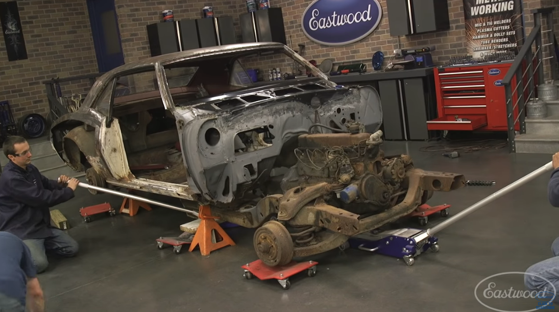 Here's How You Replace The Entire Floorpan In A First Gen Camaro. Watch This.