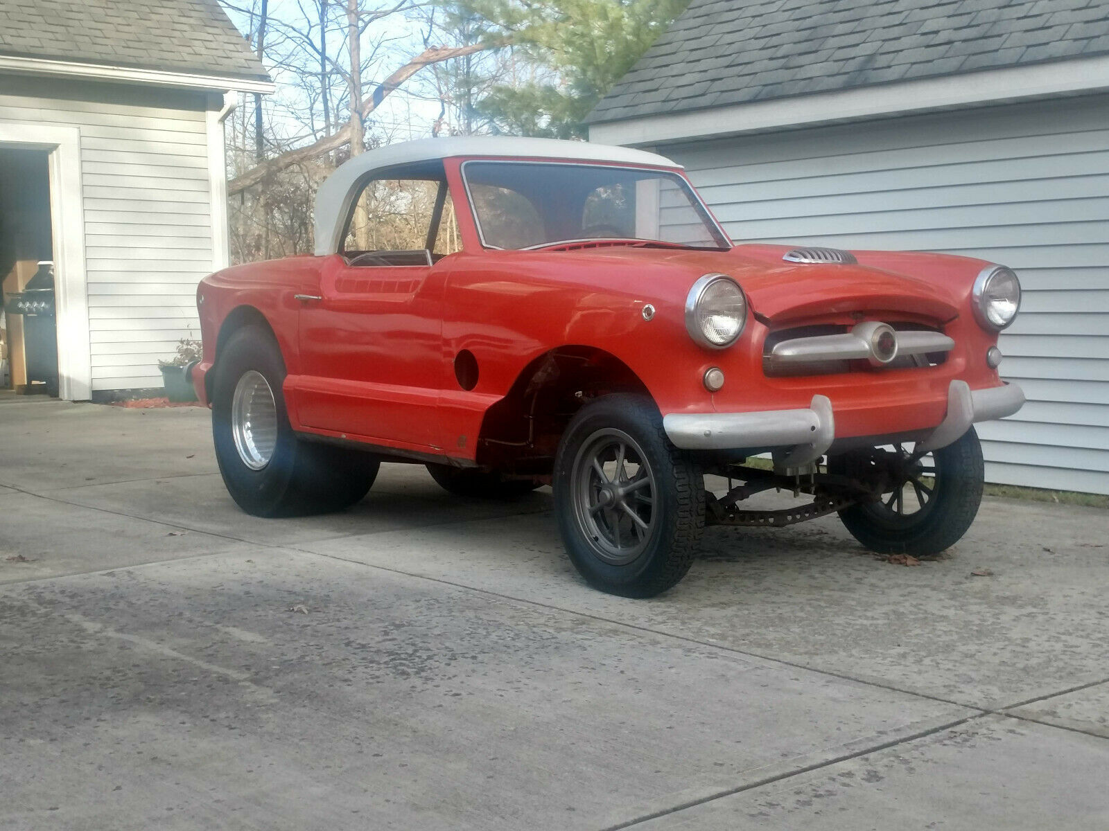 Please Shove An Engine Into This 1954 Nash And Make It Angry Again!