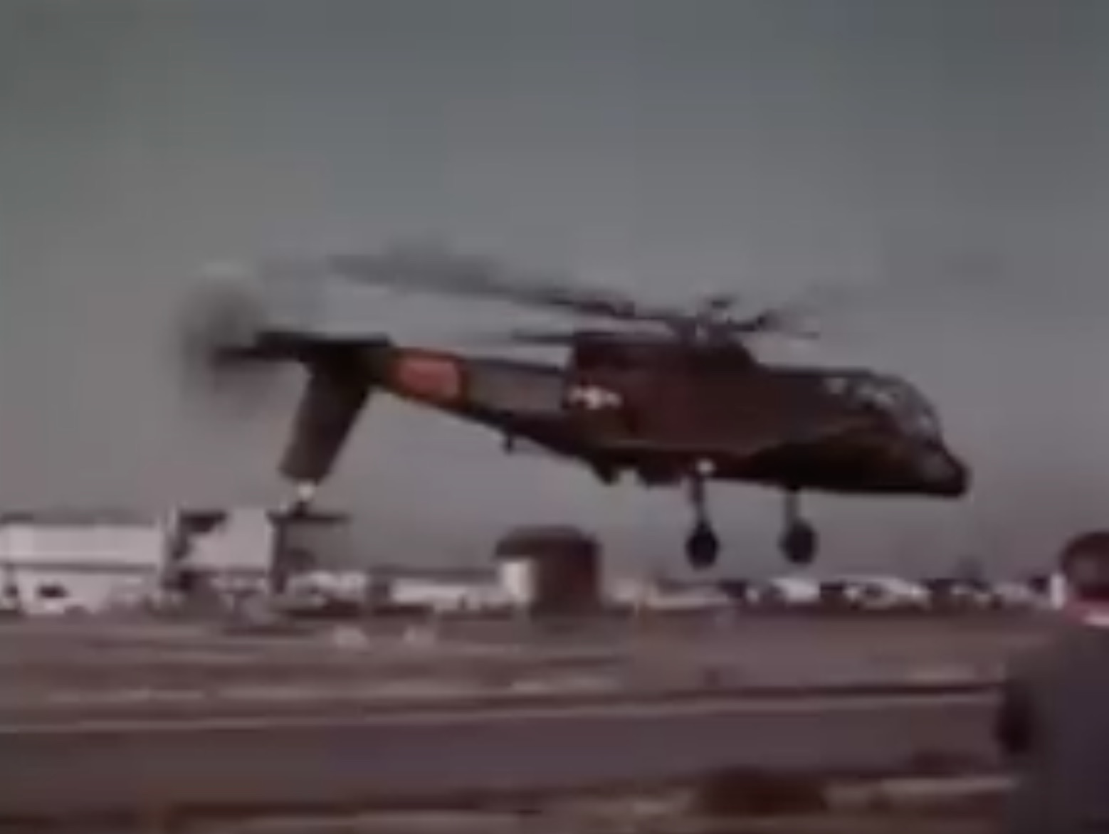 Classic YouTube: The First Demo Flight Of The AH-56A Cheyenne Attack Helicopter Prototype