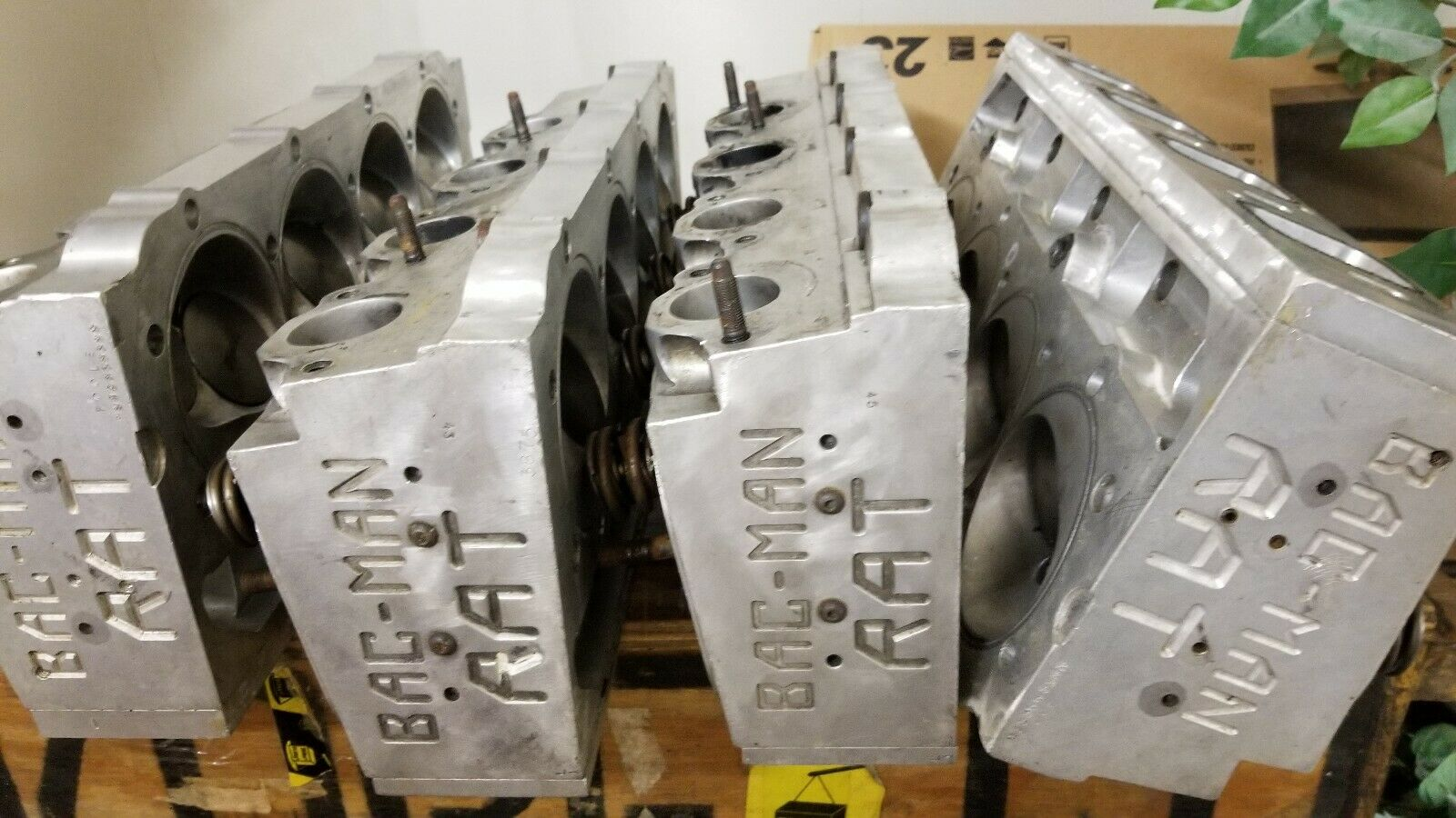 Vintage Billet: These BAC MAN RAT Heads Are Complete, Cool, And A Look Back At Billet Head Evolution