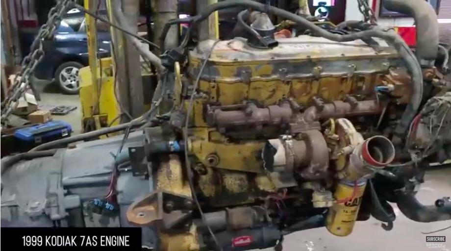 Heavy Duty Junkyard Crawl And Engine Teardown: Watch The DeBoss Garage Guys Get Busy With Some Caterpillar Fun!