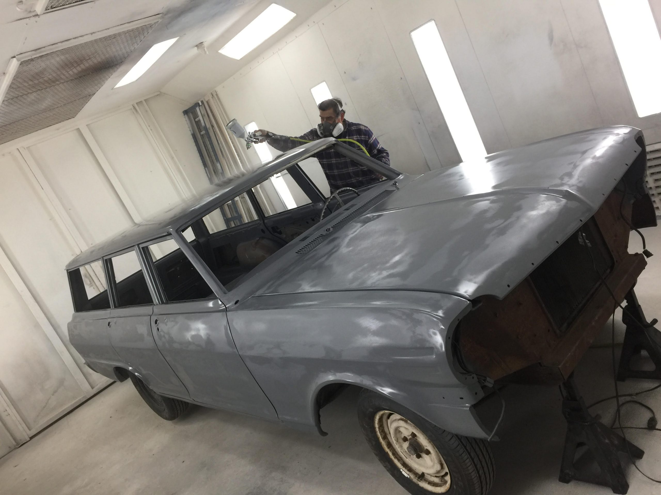 Sanding For Days! The Norcal Garage Family Time 1963 Chevrolet Chevy II Station Wagon Is Coming Along!
