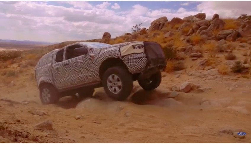 Excited For The New Ford Bronco? This Video Of The Prototype Being Tested Is Short, Sweet, and Cool