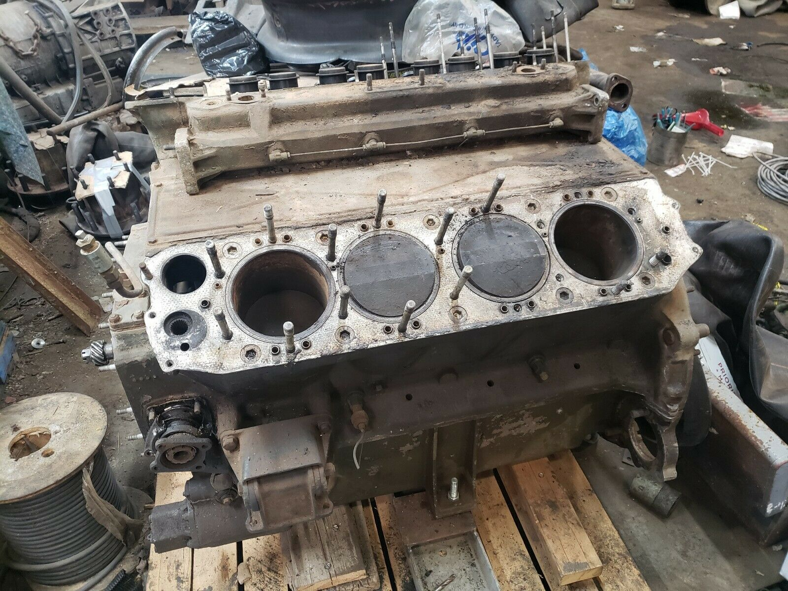 eBay Find: This 1,100ci All-Aluminum Ford GAF V8 Is A WWII Relic We Want To Own!