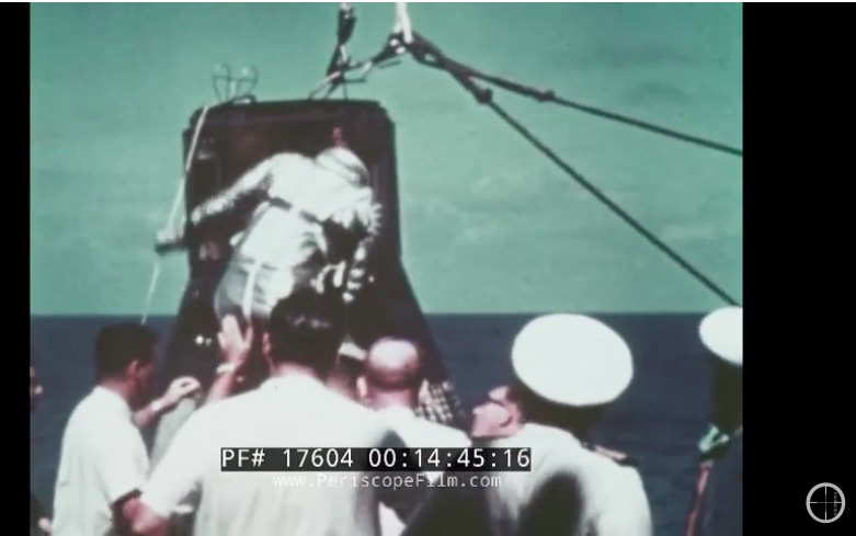 Victory Lap: This 1960s NASA Video Celebrates the Mercury Program's Success And Is Awesome