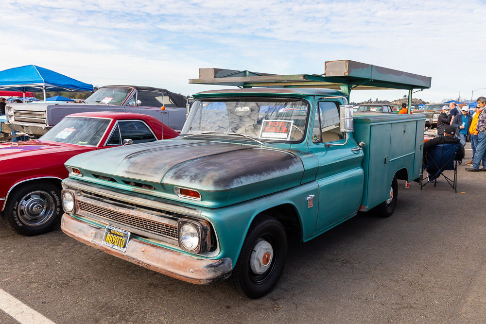 Pomona Swap Meet Coverage: More Cool Cars and Trucks From The Nation's Biggest Regular Swap Meet!