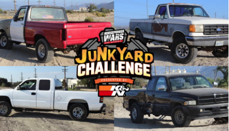 4 Teams, 4 Junkyard Trucks, $6,000, And 1 Week To Buy A Truck And Build It Into The Ultimate Off-Road Machine In Pursuit Of The $10,000 Prize.