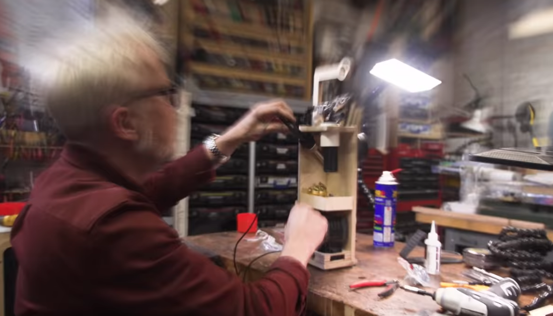 Adam Savage Builds A Really Cool Portable Solder Station That You Can Replicate In Your Shop
