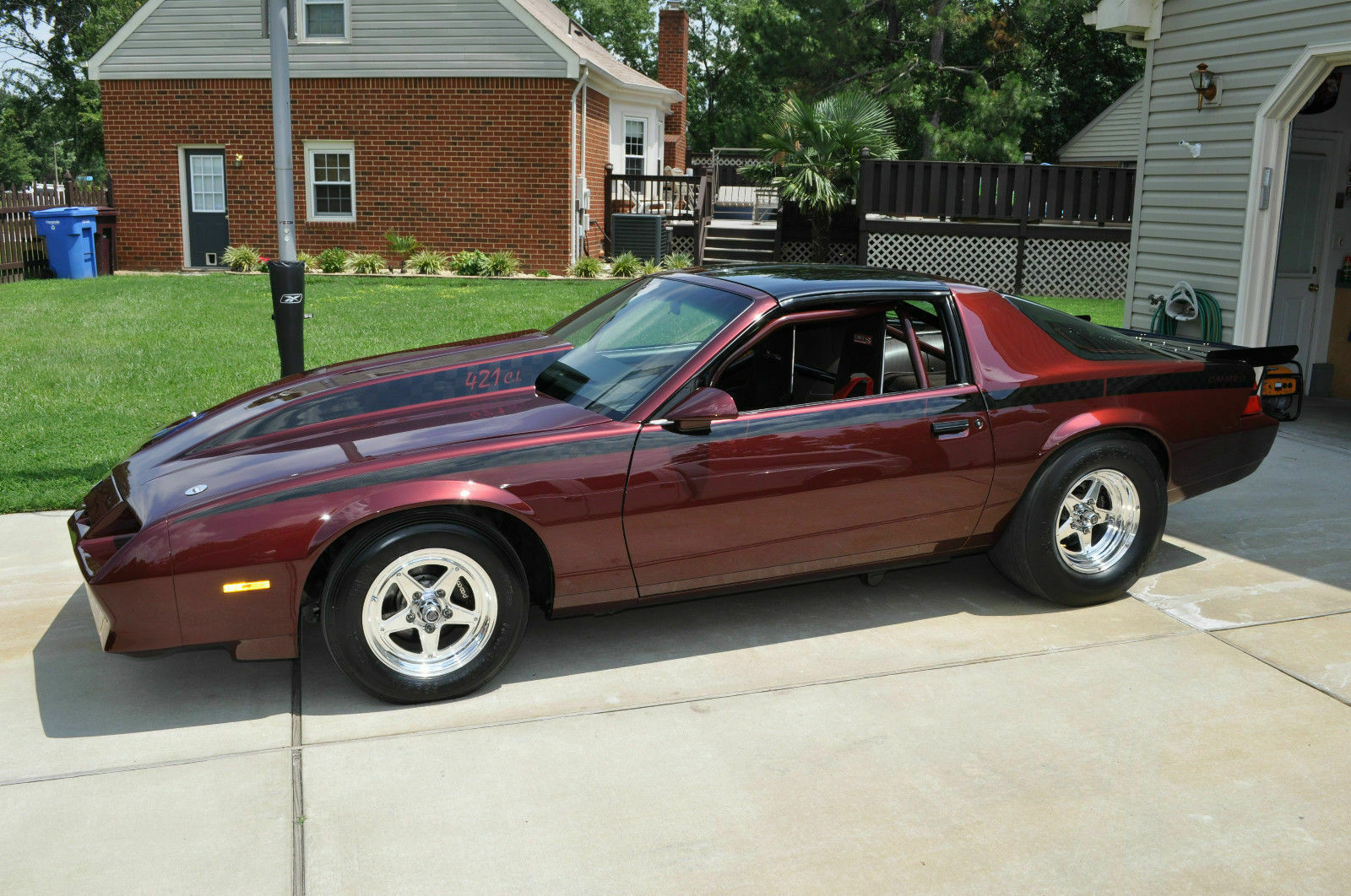 We'll Take It All: 1983 Chevrolet Camaro, Trailer, and Gear Too?