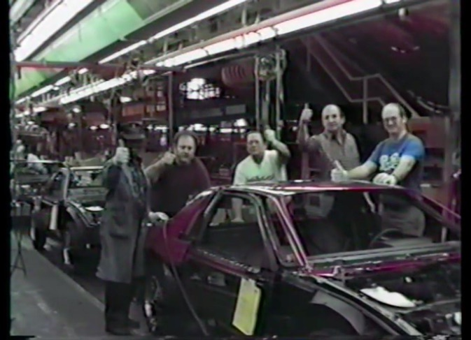 Two Minutes of Cringe: This 1980s Thank You Video From Pontiac Fiero Plant Is Hilariously Weird