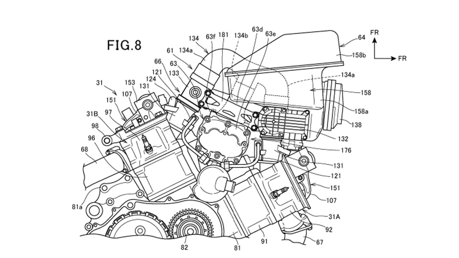 Is Honda Getting Ready To Release A Supercharged V-Twin Motorcycle? It Sure Looks That Way