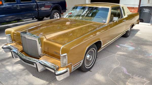 Q-Ship: This 1978 Lincoln Is A Cream Puff With A 532ci, Dual Quad Equipped Big Block Ford