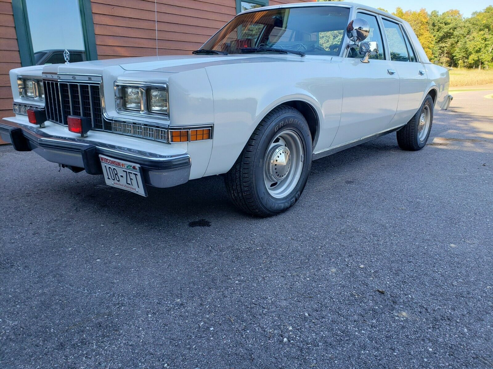 Vanilla Vice: 1989 Dodge Diplomat AHB – Clean As A Whistle!