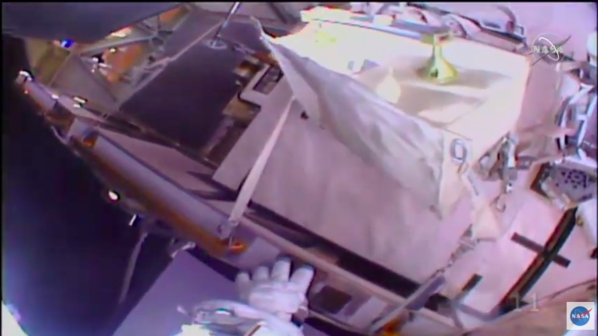 Space Wrenching: Watch Today's NASA Space Walk LIVE and In Progress NOW