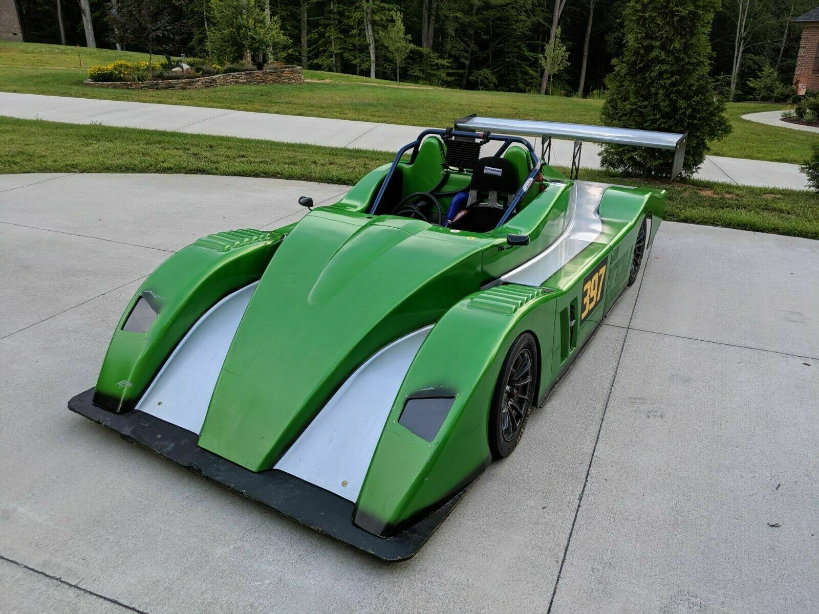 Green Monster: This LMR Prototype Has A 500hp Turbocharged Hyabusa Engine And An Amazingly Cheap Selling Price