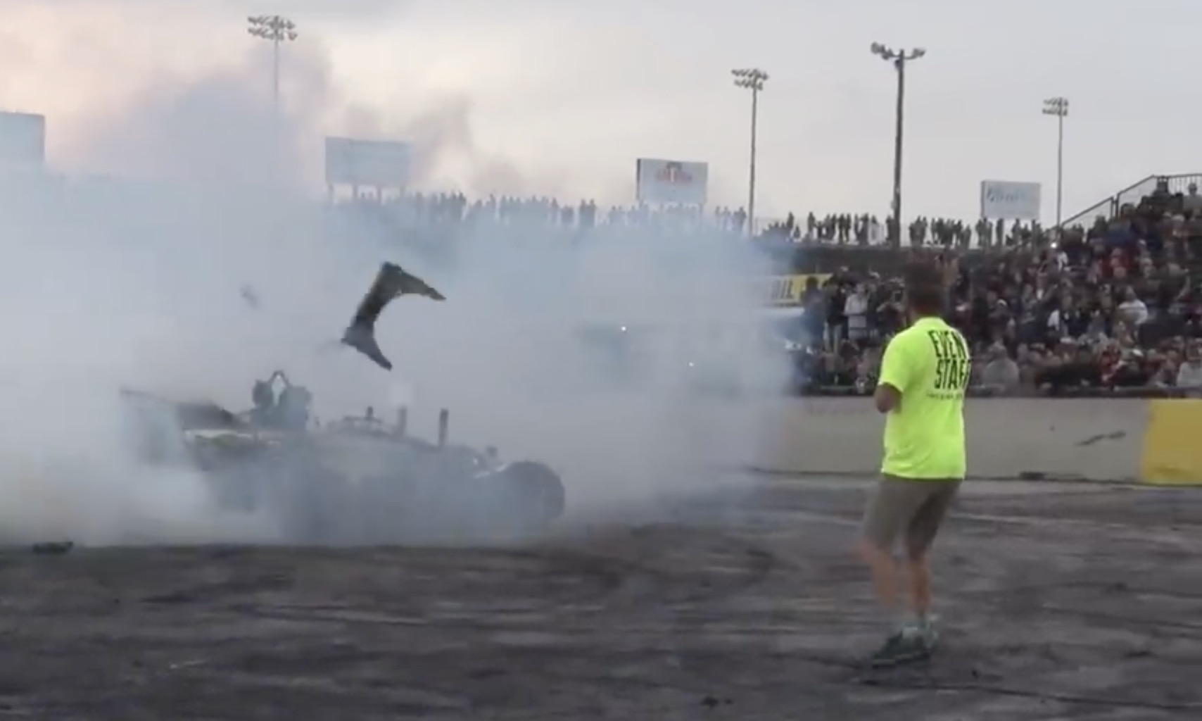 Hot Garbage: 700 Horsepower Worth Of WTF On The Burnout Pad!