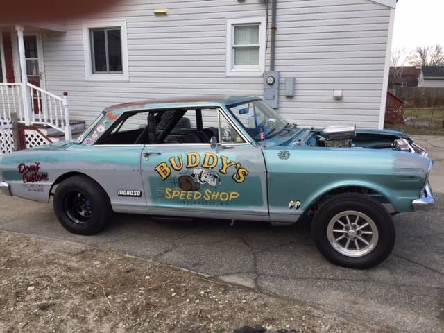 This 1963 Chevy II Nova Gasser Could Be Fun! This Is Gear Banging Goodness Right Here!