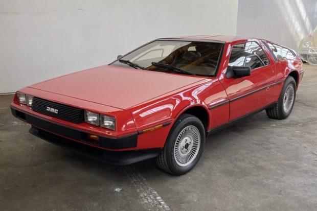 Money No Object: 1982 DeLorean DMC-12 – Lady In Red