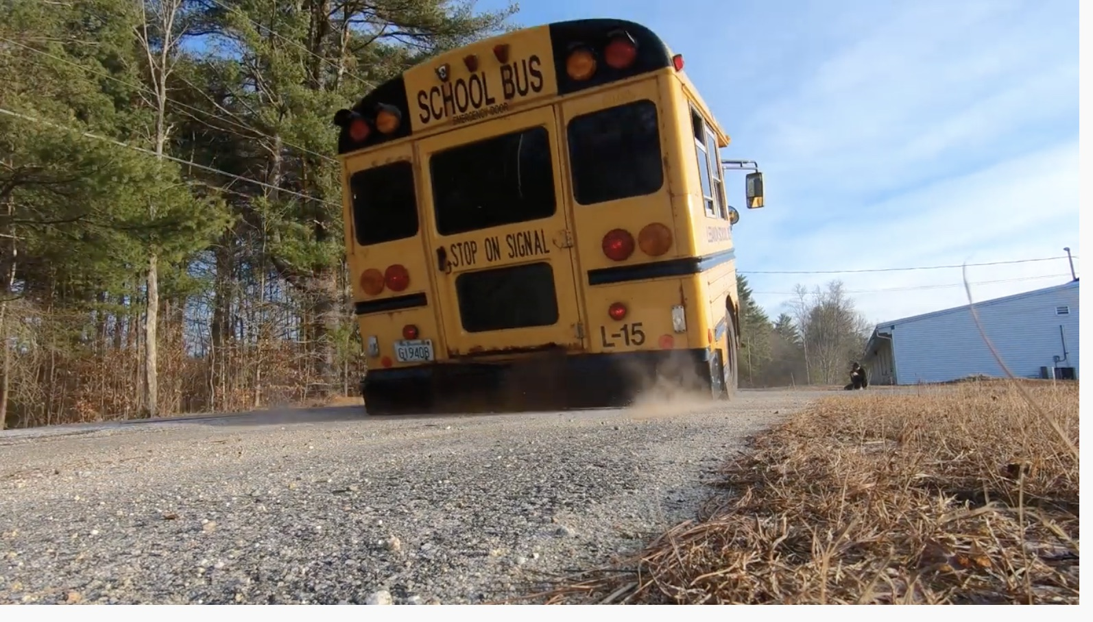 Hey Kids, Watch This! A Twin-Turbo Wheelstanding Short Bus For The Hell Of It!