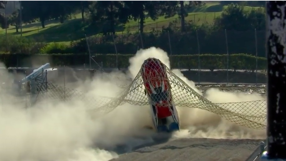 Watch Dan Horan Jr's High Speed Trip Into The Catch Net At The 2020 NHRA Winternationals – 262mph And No Parachute!