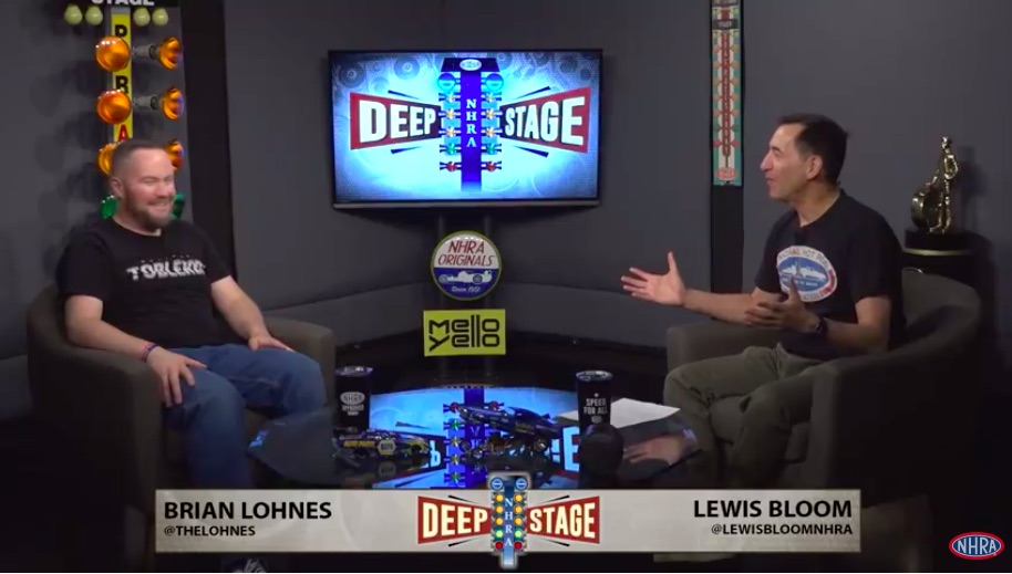 Drag Racing Debate Show! Watch The First Episode Of NHRA Deep Stage With Lohnes and Lewis Bloom