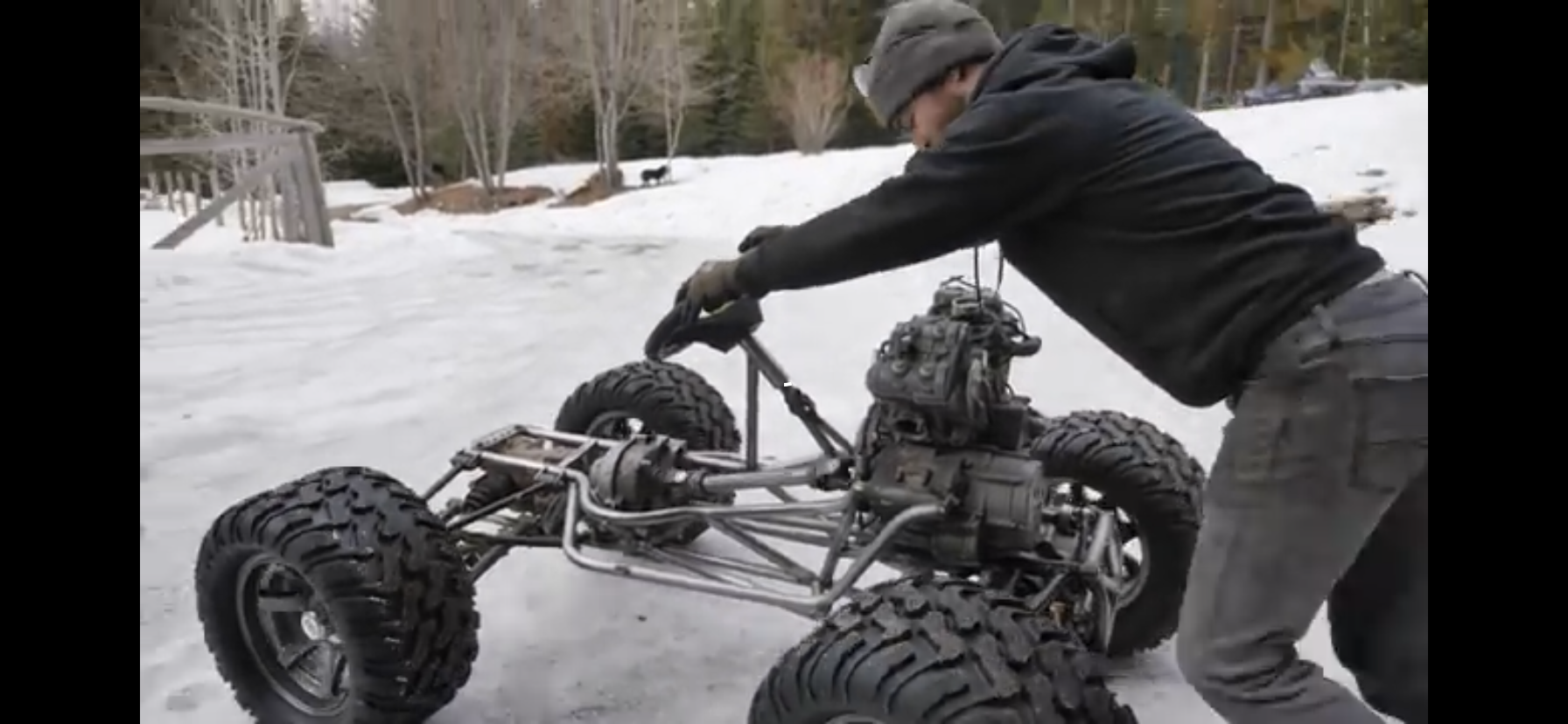 The Four-Wheel-Drive Jeep Kart: Steering, Body Mounts, and Rock Sliders