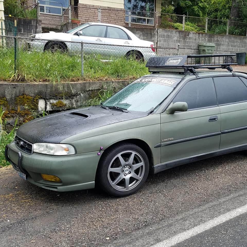 Rough Start: 1997 Subaru Legacy GT – Manual-Trans Rally Daily