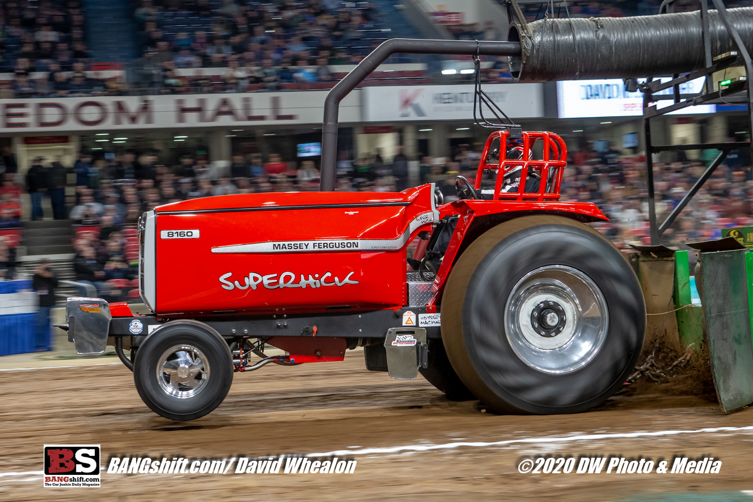 Event Coverage: Pulling Action At The 2020 National Farm Machinery Show – Horsepower In Louisville, Kentucky!
