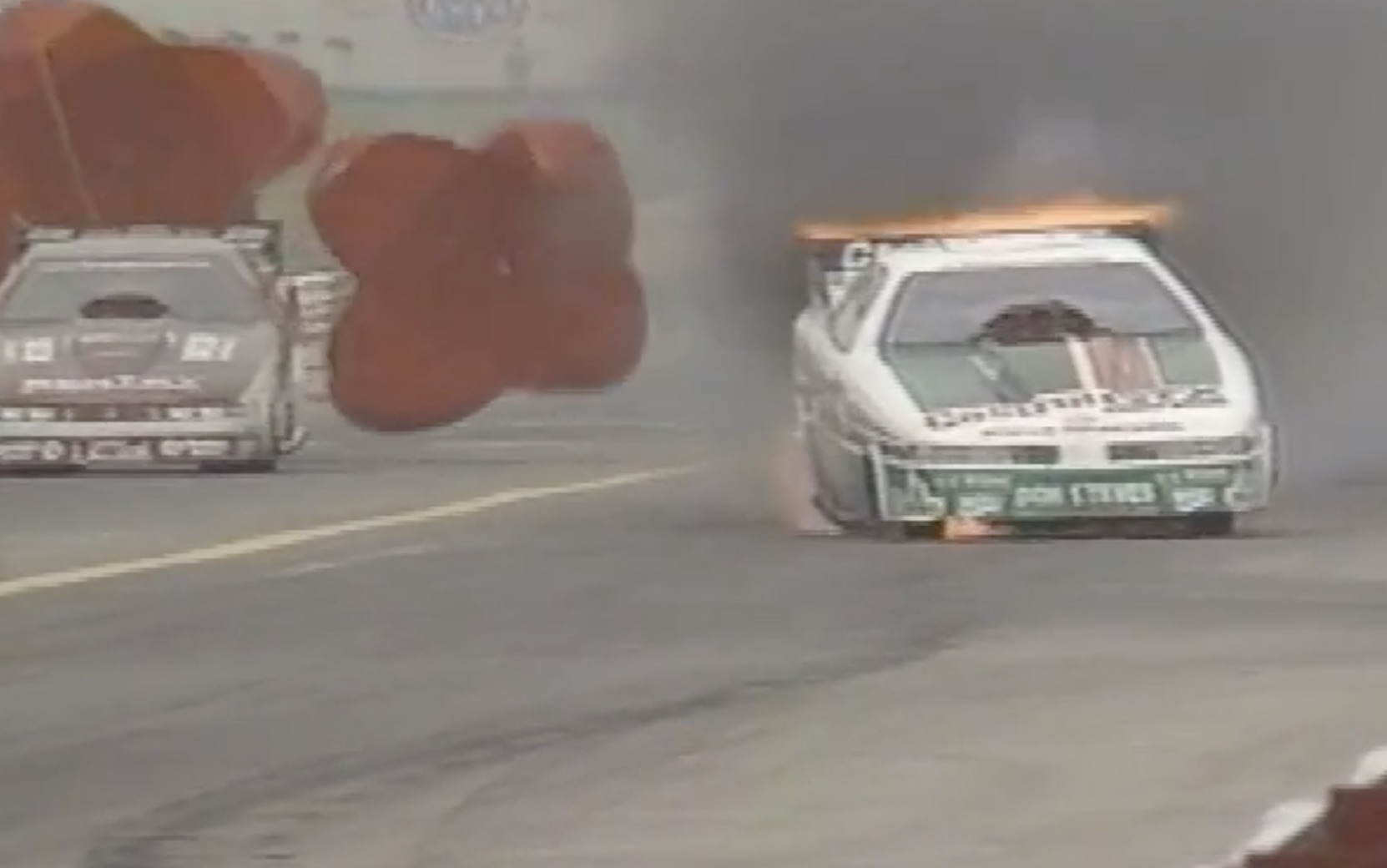 Classic YouTube: John Force's Mild Roast At Indy In 1990