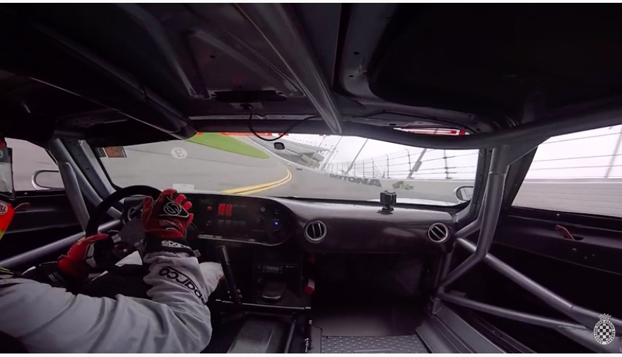 Blue Oval Roar: Ride In This 5.4L Mk7 Ford GT As It Hammers Around Daytona Swallowing Porsches