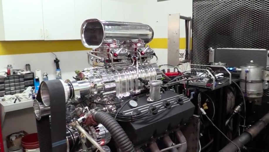 Engine Building Video: Watch A 572ci Stroker Hemi Get Built, Topped With An 8-71, and Tested On The Dyno!