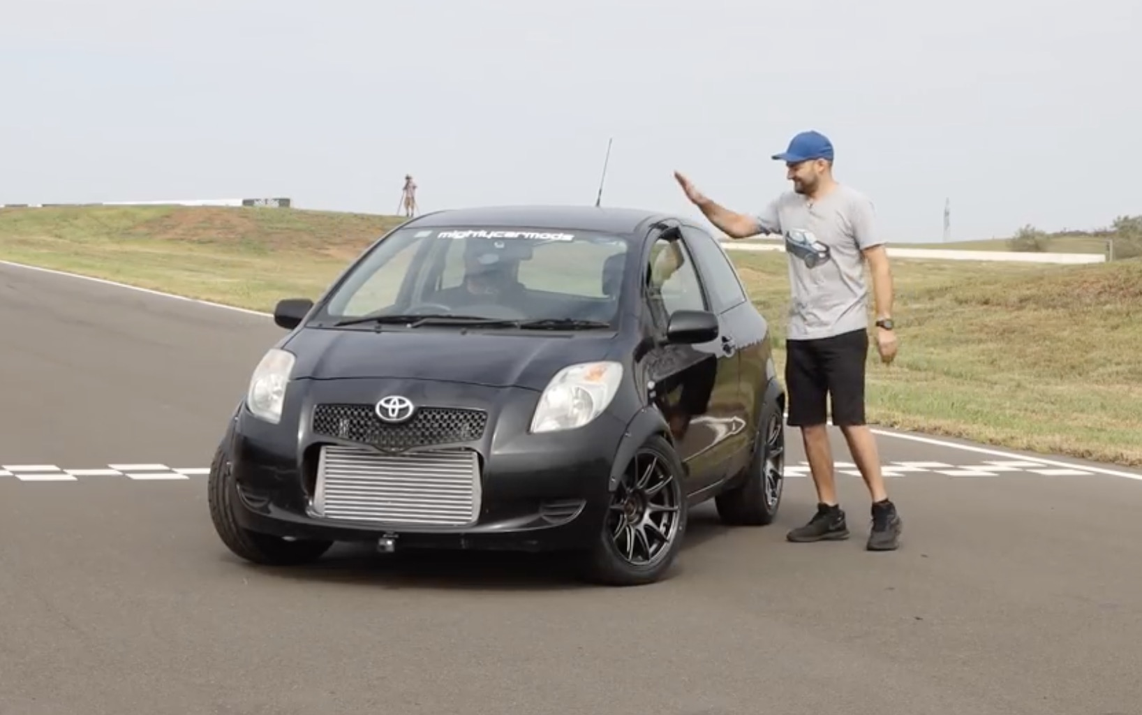We'll Always Have Yaris: Mighty Car Mods Test Out Their Hot-Rodded Toyota Hatch!