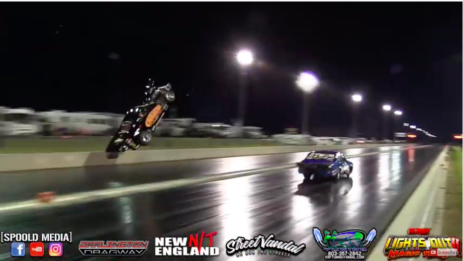 Watch Marcus Birt Take Flight In His Radial vs The World Nitrous Corvette – Hang Time Supreme!
